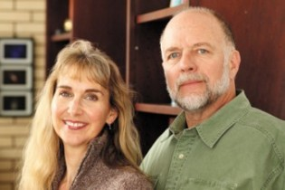 Kristen Johanna Allen and Mark Bailey. Photo Credit: Publishers Weekly